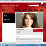 Neue Stimmen 2015-Biography- Camila Titinger
