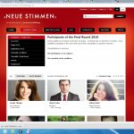 Neue Stimmen 2015- site - Participants of the final rounds-Camila Titinger